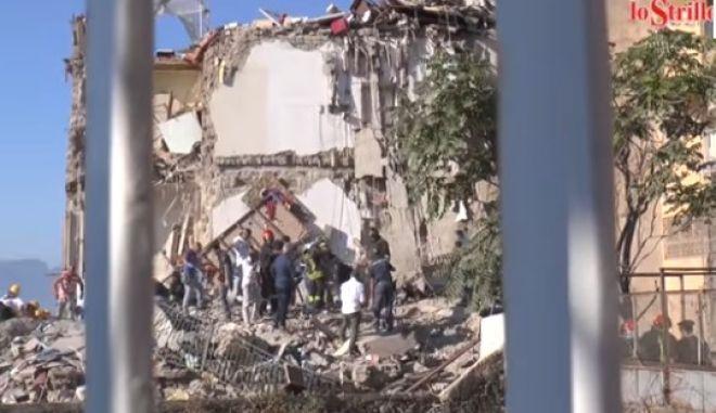 Νάπολη: Τουλάχιστον δύο νεκροί από κατάρρευση κτιρίου