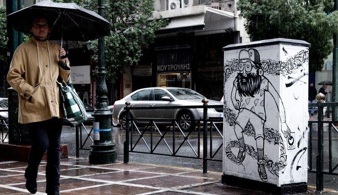 Βροχόπτωση στην Αθήνα