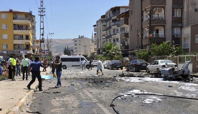 Τουρκία: Βομβιστική επίθεση με 4 νεκρούς και 13 σοβαρά τραυματίες