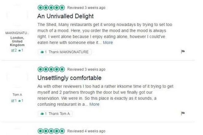 Πώς ένα fake εστιατόριο έγινε το πιο περιζήτητο στο Λονδίνο