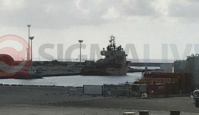 Κατέπλευσε στο λιμάνι Λεμεσού το ερευνητικό σκάφος της ExxonMobil