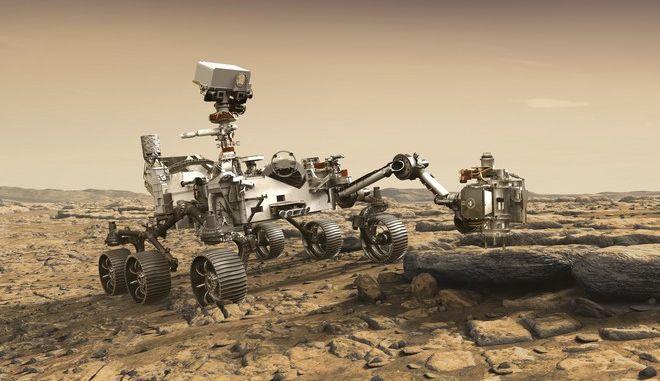 Το ρόβερ της NASA: Mars 2020 Perseverance