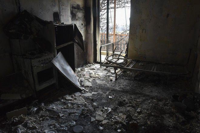 Δεν γλίτωσαν τα σπίτια των παιδιών  (Eurokinissi/ΜΠΟΛΑΡΗ ΤΑΤΙΑΝΑ )