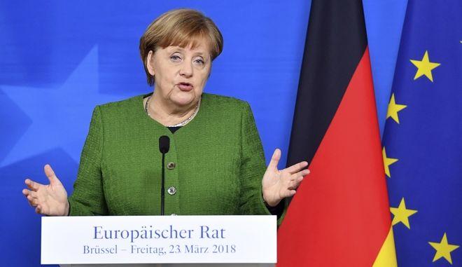 H Γερμανίδα καγκελάριος, 'Αγκελα Μέρκελ