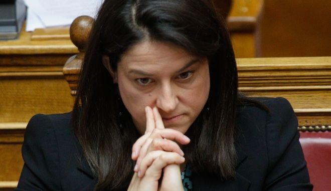 Η υπουργός Παιδείας Νίκη Κεραμέως
