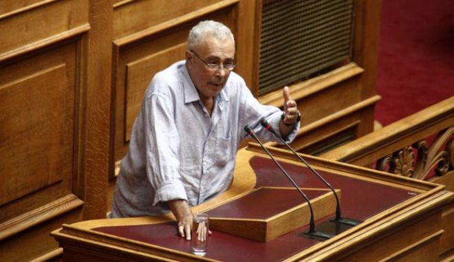 Συζήτηση  και λήψη απόφασης, στην Ολομέλεια της Βουλής, επί της προτάσεως που κατέθεσαν ο αρχηγός της Αξιωματικής Αντιπολίτευσης και Πρόεδρος της Κοινοβουλευτικής Ομάδας της ΝΕΑΣ ΔΗΜΟΚΡΑΤΙΑΣ Κυριάκος Μητσοτάκης  και οι βουλευτές του κόμματός του, για σύσταση Εξεταστικής Επιτροπής, σχετικά με τη διερεύνηση των αιτιών επιβολής τραπεζικής αργίας και κεφαλαιακών περιορισμών, υπογραφής του τρίτου Μνημονίου και ανάγκης νέας ανακεφαλαιοποίησης των πιστωτικών ιδρυμάτων, την Τρίτη 26 Ιουλίου 2016. (EUROKINISSI/ΓΙΩΡΓΟΣ ΚΟΝΤΑΡΙΝΗΣ)