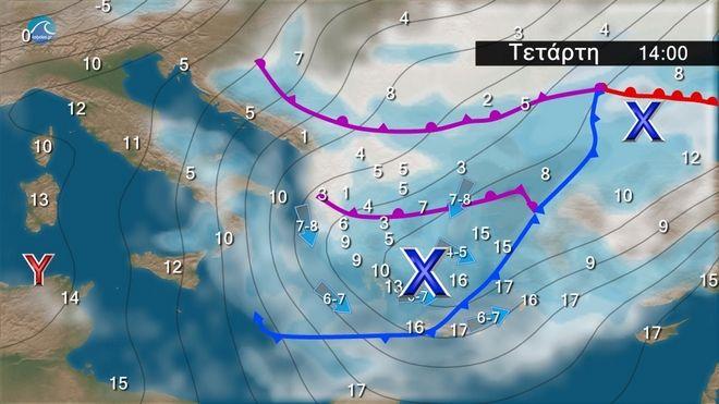 Καιρός: Ζεστός το επόμενο Διήμερο - Επιδείνωση την Τετάρτη από τα βόρεια