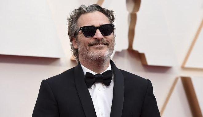 Ο Joaquin Phoenix στα Όσκαρ 2020
