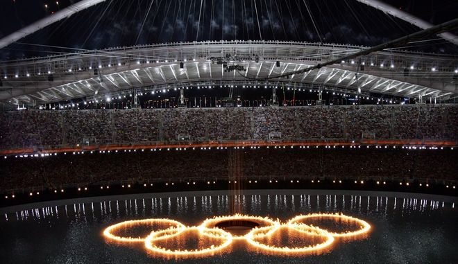 Τελετή έναρξης Ολυμπιακών Αγώνων στην Αθήνα, 2004