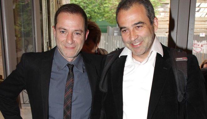 Ο Δημήτρης και ο Γιάννης Λιγνάδης