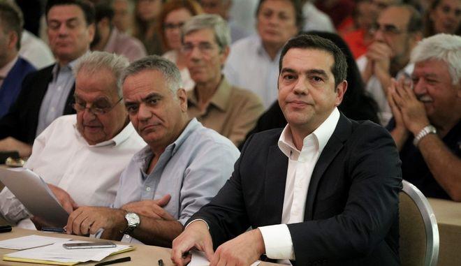 Εικόνα από την Κεντρική Επιτροπή του ΣΥΡΙΖΑ