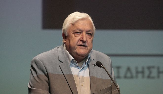 O πρώην υπουργός του ΠΑΣΟΚ Αλέκος Παπαδόπουλος