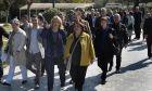 Επίσκεψη της Ρένας Δούρου στο πεδίον του Άρεως