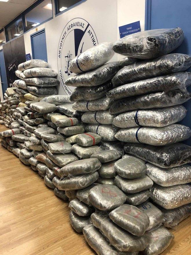 Εξαρθρώθηκε κύκλωμα διακίνησης ναρκωτικών - Κατασχέθηκε πάνω από μισός τόνος κάνναβης
