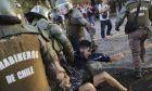 Αστυνομική βία κατά τη διάρκεια των διαδηλώσεων στη Χιλή