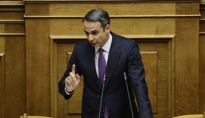 Ομιλία Μητσοτάκη: Συζήτηση επί των προγραμματικών δηλώσεων της κυβέρνησης