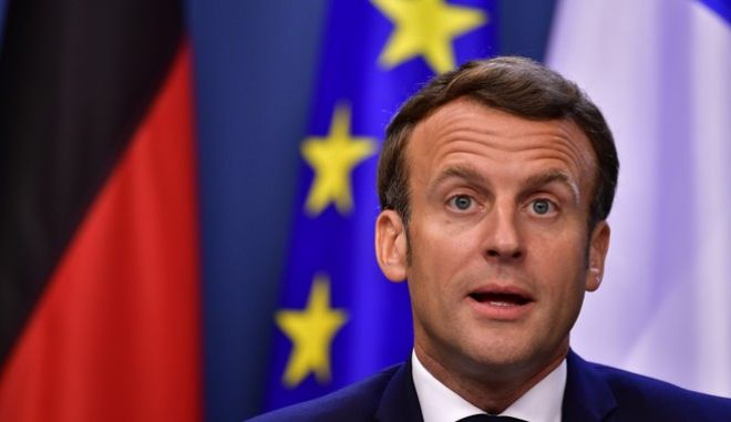Ο Γάλλος πρόεδρος, Εμανουέλ Μακρόν