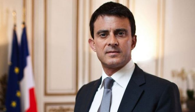 Στην Αθήνα ο Γάλλος πρωθυπουργός Μανουέλ Βαλς