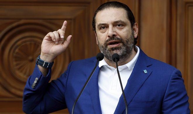 Ο σουνίτης πολιτικός Σαάντ αλ-Χαρίρι
