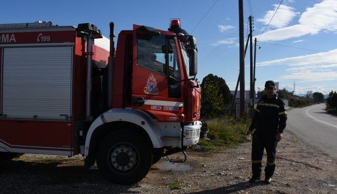 Πυροσβεστικό όχημα - Φωτό αρχείου
