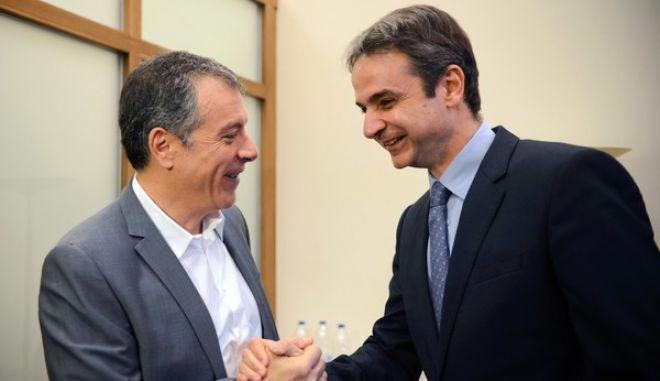 'Μεταρρυθμιστική σύμπλευση' Μητσοτάκη και Θεοδωράκη