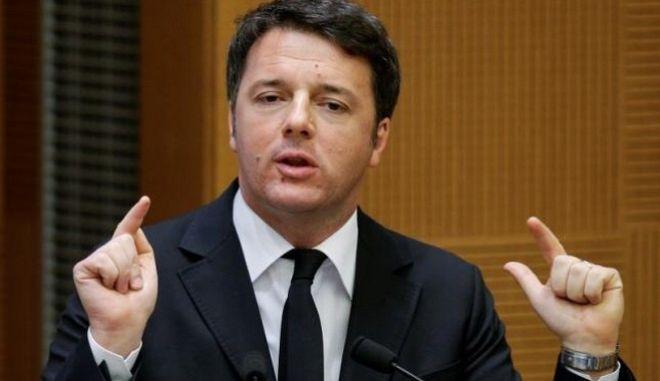 Ρέντσι: Η Ιταλία ζητά από την Ευρώπη να γίνουν σεβαστοί όλοι οι κανόνες