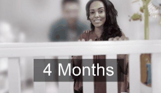 Απίστευτο gif σου δείχνει τι βλέπεις στους πρώτους μήνες της ζωής σου