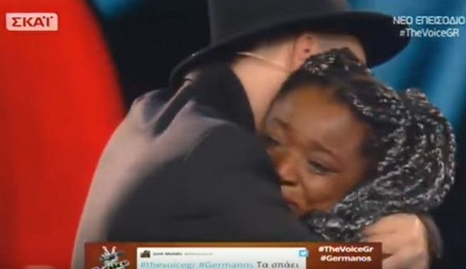 The Voice: Ξέσπασε σε κλάματα όταν ο Μουζουράκης επέλεξε τον αντίπαλό της