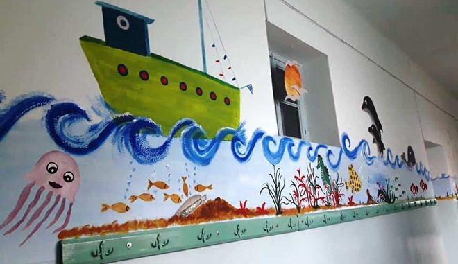 Ανακαίνιση σχολείου στην Καβάλα