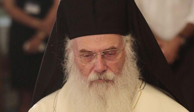 Ο Πατριάρχης Αλεξανδρείας Θεόδωρος Β'.
