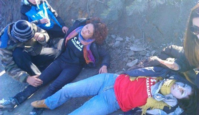 Επεισόδια και χημικά ξανά στις Σκουριές στη Χαλκιδική