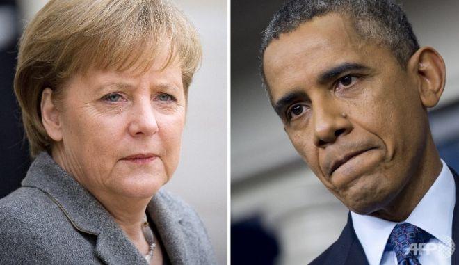 """Ομπάμα: """"Η καγκελάριος δεν χρειάζεται ν' ανησυχεί για τις παρακολουθήσεις"""""""