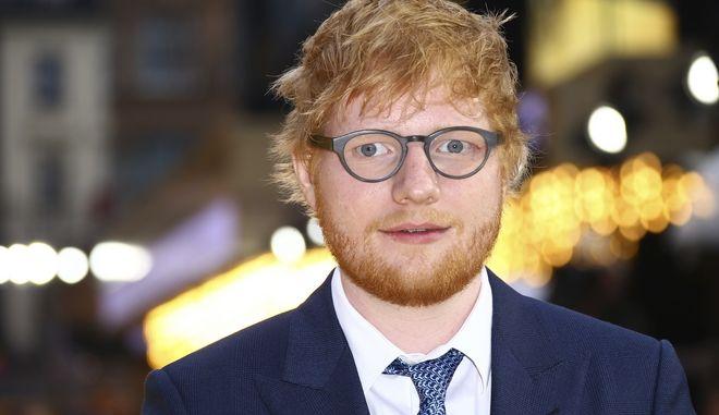Ο τραγουδιστής Ed Sheeran