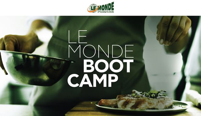 LE MONDE Bootcamp: Ζήσε την απόλυτη γαστρονομική εκπαιδευτική εμπειρία