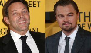 Jordab Belfort and Leonardo Di Caprio