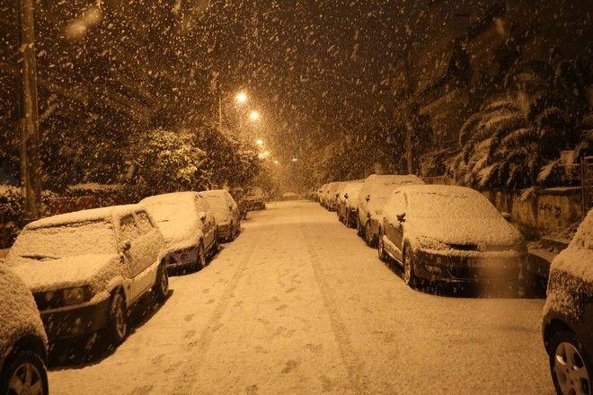 Χιονισμένη Κυψέλη