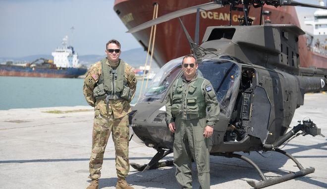 """""""Πάτησαν"""" Ελλάδα τα αμερικανικά ελικόπτερα Kiowa Warrior"""