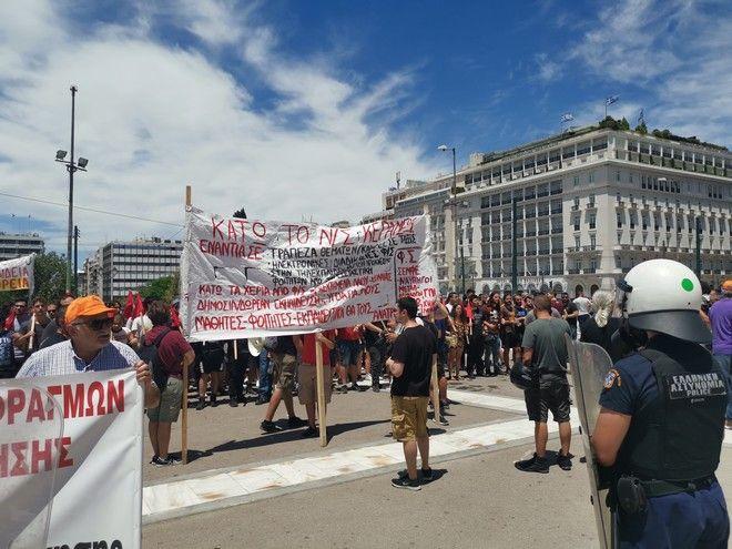 Στους δρόμους ξανά οι εκπαιδευτικοί ενάντια στο νομοσχέδιο του υπουργείου Παιδείας
