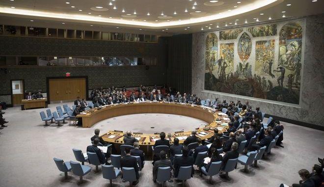 Συνεδρίαση του Συμβουλίου Ασφαλείας του ΟΗΕ