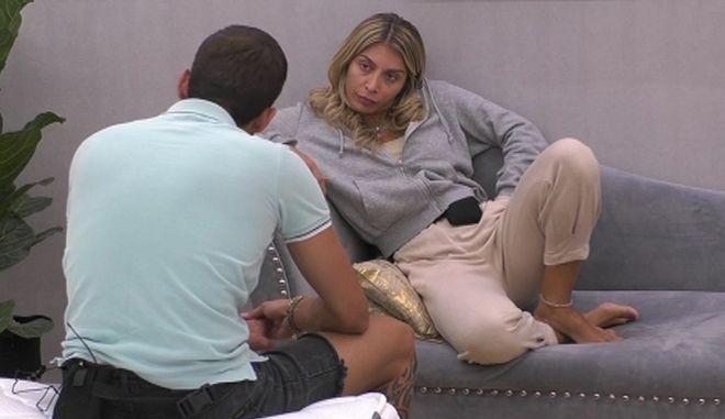 Big Brother: H Σοφία μιλά στον Θέμη για τα συναισθήματά της- Η παρεξήγησή της με τον Δημήτρη