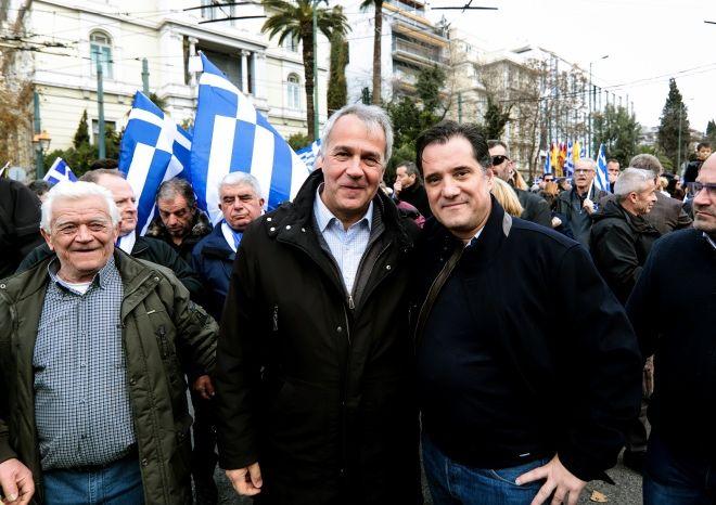 Φαίνεται ότι η στιγμή που ο Άδωνης Γοργάδης και ο Μάκης Φόρδης συμμετείχαν στις διαδηλώσεις ενάντια στη συμφωνία των Πρεσπών από τις οργανώσεις και τις επιτροπές της πΓΔΜ στο σύνταγμα, δεν είναι πλέον δυνατή.