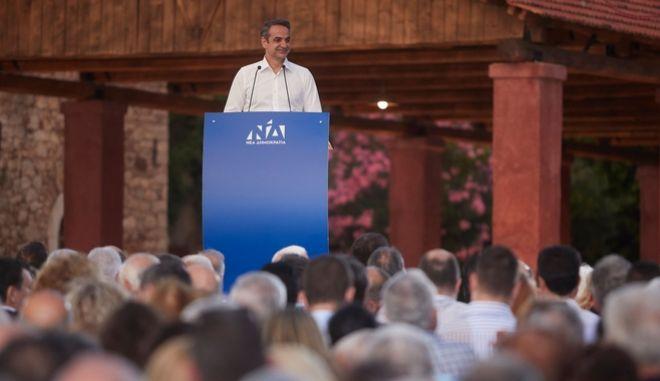 Μητσοτάκης: Η Ελλάδα χρειάζεται σταθερή κυβέρνηση και μεταρρυθμίσεις