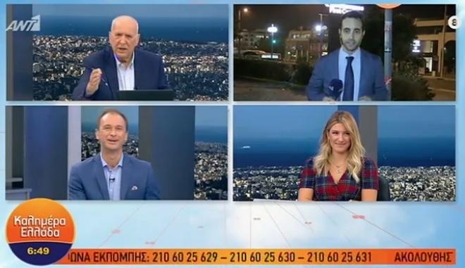 """Γιώργος Παπαδάκης: """"Είσαι άσχετος! Φύγε με τον πεοδείκτη πρωί πρωί"""""""