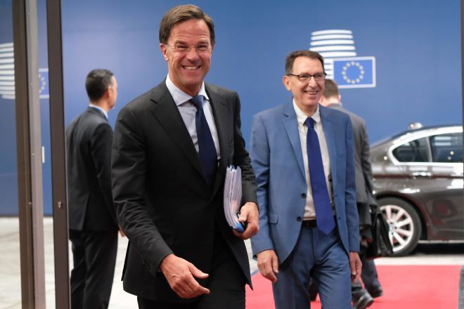 O Ολλανδός πρωθυπουργός, Μάρκ Ρούτε