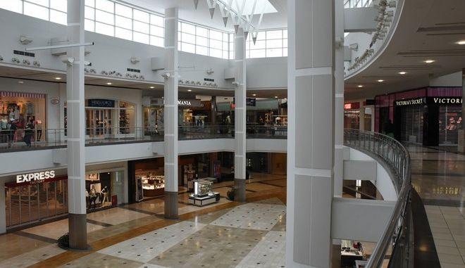 Κλειστό mall λόγω κορονοϊού