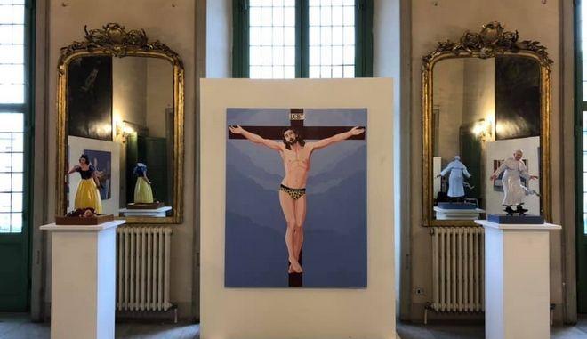 Facebook: Μπλόκαρε καλλιτέχνη λόγω ενός πίνακα με τον Χριστό ως ΛΟΑΤΚΙ