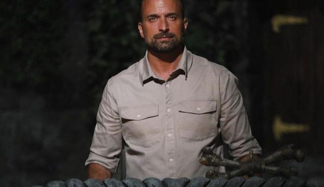 Ο παρουσιαστής του Survivor, Γιώργος Λιανός