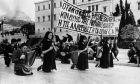 Διαδηλώσεις για τα Δεκεμβριανά
