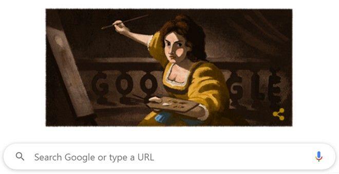 Αρτεμίζια Τζεντιλέσκι: 427 χρόνια από τη γέννησή της