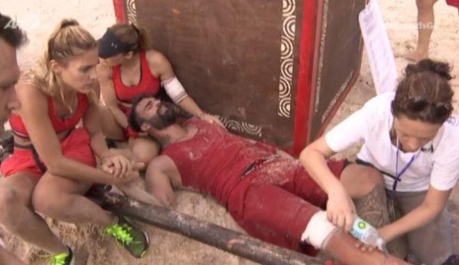 Nomads: Τραυματίστηκε ο Αλεξάνδρου - Απαρηγόρητη η Αποστολία Ζώη